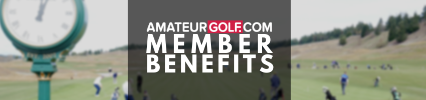 AmateurGolf.com Member Benefits