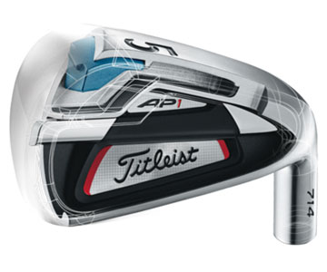 Titleist AP1 iron technology