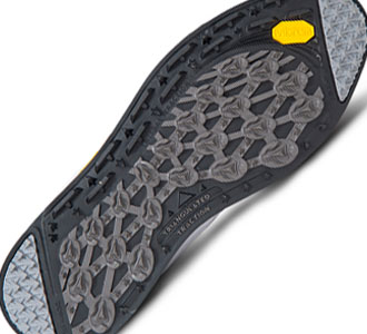 The rubberized traction wall of 