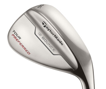 TaylorMade's Tour Preferred wedge 