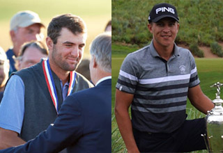 Scottie Scheffler / Cameron Champ