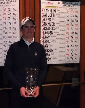 Alex Franklin wins AGC Silicon Valley Amateur