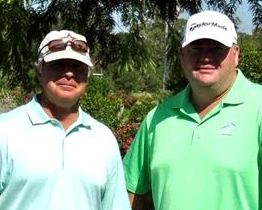 Brady Exber and Kevin Marsh<br>2012 Champions Cup Invitational Champions
