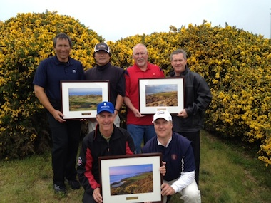 Record scores prevail at Two Man Links Championship