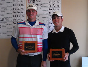 Winner Robby Salomon (left) and<br> Runner-up Jered Stone