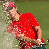 Carlos Ortiz's (MEX) 4-under 68<br> was low round of the day