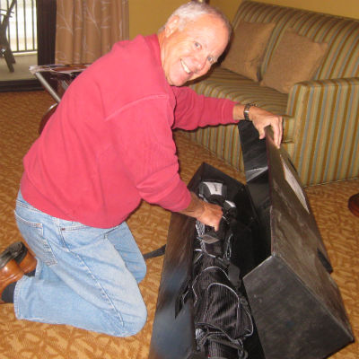 Contributor Dave Agerter was pleased when opening his <br>fresh set of TaylorMade clubs from ClubHub