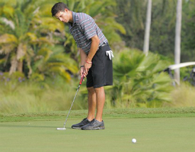 Dixie Amateur: Carlin takes lead