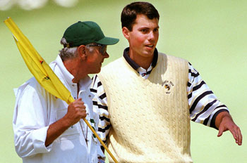 Matt Kuchar in 1998<br>(Golfweek photo)