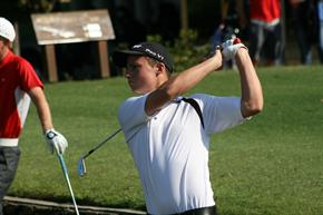 Kade McBride (Golf Queensland photo)