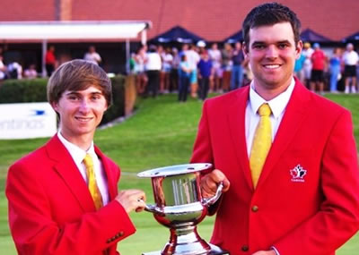 Austin Connelly, Corey Conners (Asociacion Argentina de Golf)