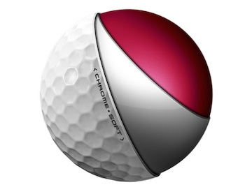 Callaway's new Chrome Soft golf ball
