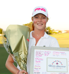 Mathilda Cappeliez of France captures Dixie Women's Amateur in playoff