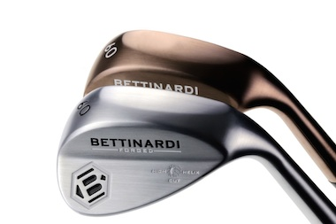 Bettinardi H2 Wedges are available in<br>Cashmere Bronze and Satin Nickel