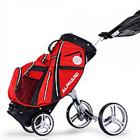 Alphard Duo Integrated Push Cart and Golf Bag Review