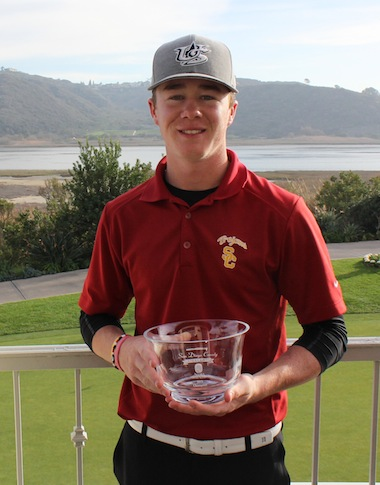 Sean Crocker goes low on final day to win AGC San Diego Amateur