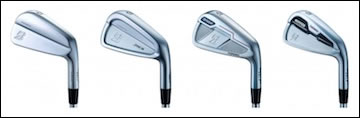 The Bridgestone J15 Family of Forged Irons
