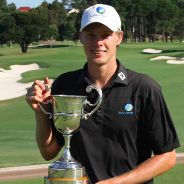 Cameron Davis, 19, of New South Wales<br>(Golf Australia Photo)