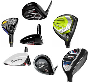 2015 Fairway Wood and Hybrid Roundup: An AmateurGolf.com Staff Review