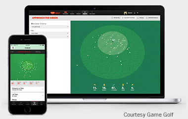 Game Golf's short game dashboard