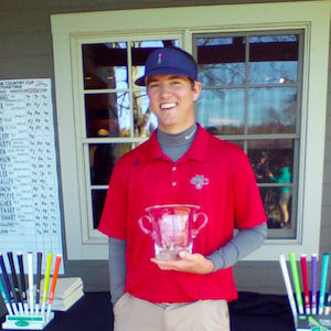 Tye Gabriel battles tough course for Wine Country Cup win