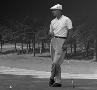 The legendary Ben Hogan<br>(Images courtesy Ben Hogan Equipment Co.)