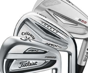 2015 Player Irons From Titleist, Callaway and Ping