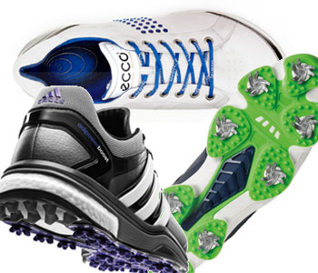 New shoes from FootJoy, Ecco and Adidas will add spring to your step.