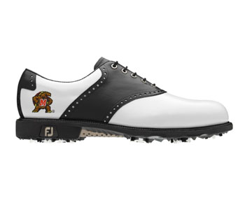 The timeless and classic FootJoy FJ Icon golf shoe.