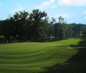 The picturesque golf course at the University of Maryland