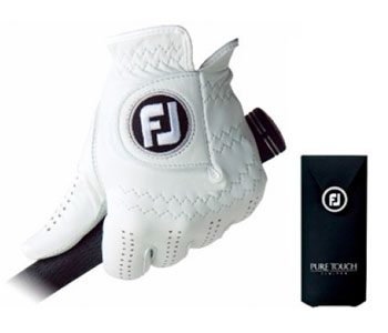 The FJ Pure Touch glove offers outstanding performance and world-class feel.