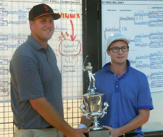 Andrew (left) and Austin Roberts<br>(Photo credit: Sac. Golf Council)