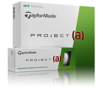 TaylorMade's Project (a) golf balls are designed for amateur players.