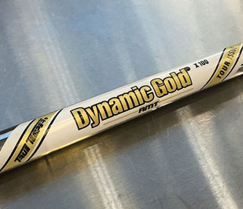 True Temper Dynamic Gold AMT Shaft: Preview