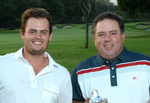 Alec and Doug Martinez pictured<br>at last year's Cravens Cup