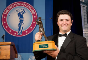 2015 Ben Hogan Award winner Jon Rahm