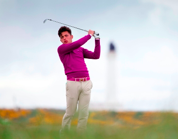 Scottish Open Amateur winner Marco Penge<br>(Photo courtesy of Scottish Golf Union)