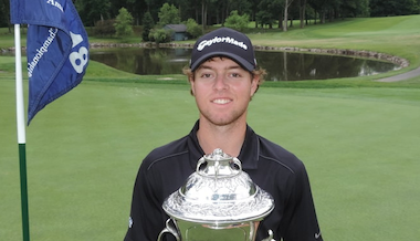 2015 N.J. State Am winner Max Greyserman (NJSGA photo)