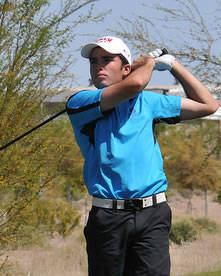 SNGA Amateur winner Zane Thomas<br>SNGA file photo