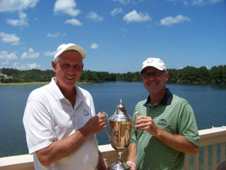 Mid-Am Four Ball North champs Gosse and Hume <br> Photo courtesy FSGA