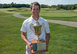 Ben Spitz wins Commonwealth Cup <br> Photo courtesy of MGA