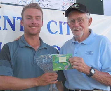 2015 Sacramento City winner Evan Knight<Br>(Photo courtesy of Sac. Golf Council)