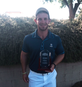 2015 Modesto City winner Anthony Bonales<br>(Photo courtesy of Dryden Park G.C.)