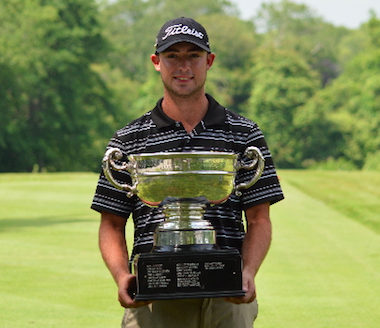 2015 CT State Amateur winner Evan Grenus<br>(Connecticut State G.A. photo)