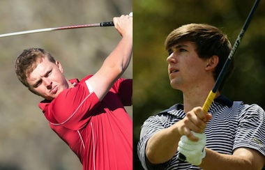 Jack Maguire (left) and Oliver Schniederjans