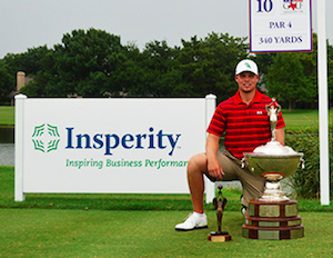 2015 Texas State Amateur champion<Br>Michael Cotton (TGA photo)