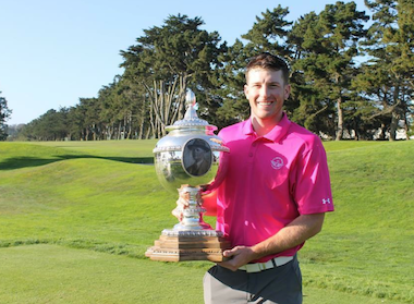 2015 California Amateur medalist<Br>Satch Herrmann (SCGA photo)