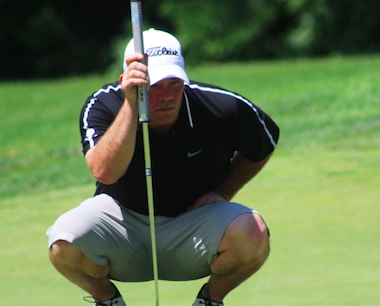54-hole leader and 41-year-old Sean Rowen (IGA photo)