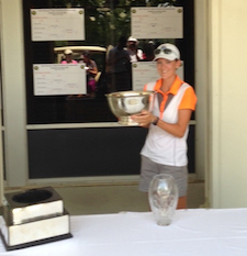Heather Nail captures State Am <br> Photo courtesy AGA