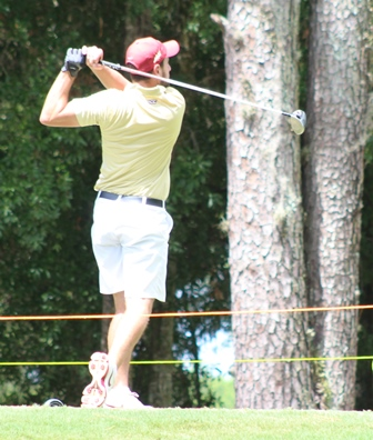 Cristobal Del Solar leads going into final round<br>Photo courtesy of FGA